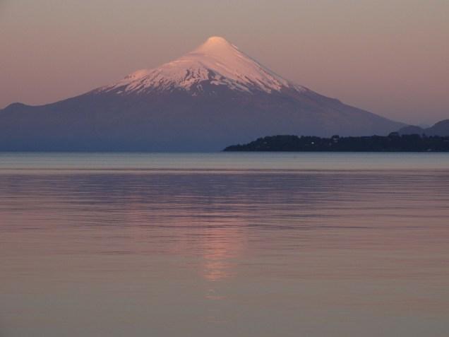 Lago LLanquihue e Vulcano Osorno
