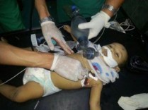 Baby Faris, killed in Rafah Friday 20140718-image by Mogaza on Twitter
