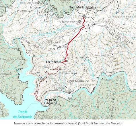 Sant Martí Sacalm - La Placeta Tram 1 obra SUSQUEDA