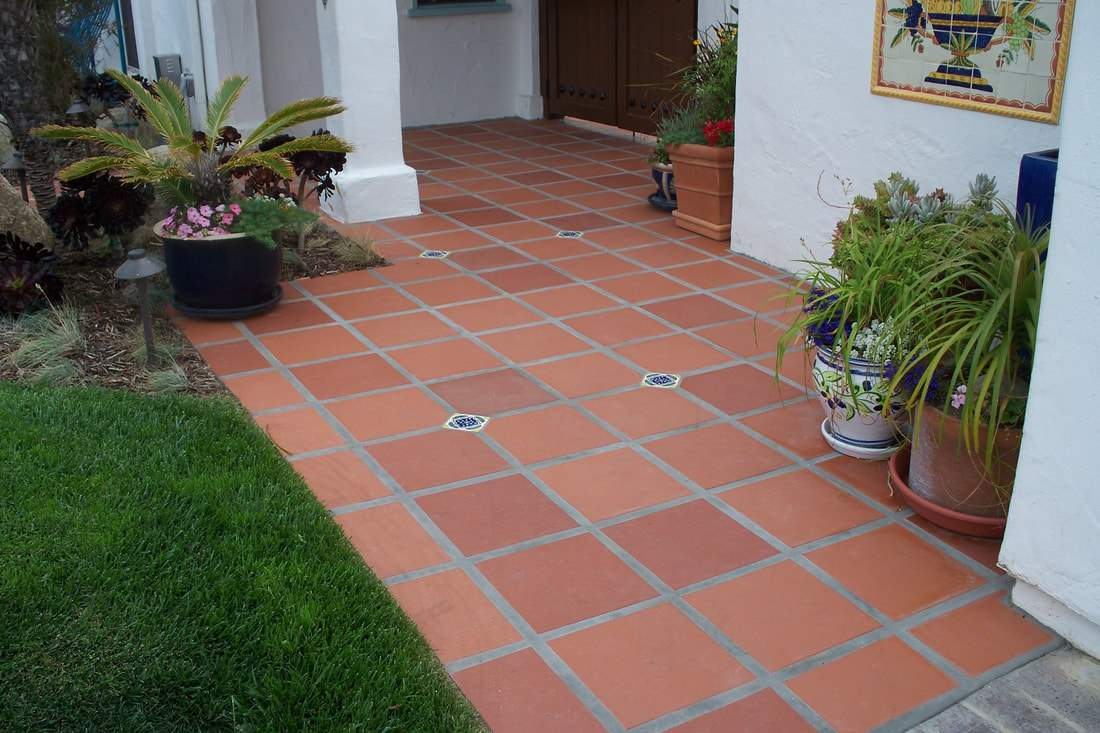 outdoor tiles terratile beautifully