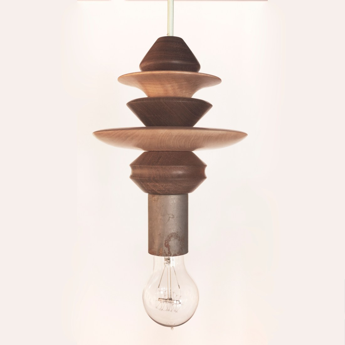 Solid wood pendant lighting for home, office, and kitchen