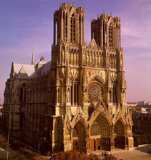 katedra w Reims - bryła