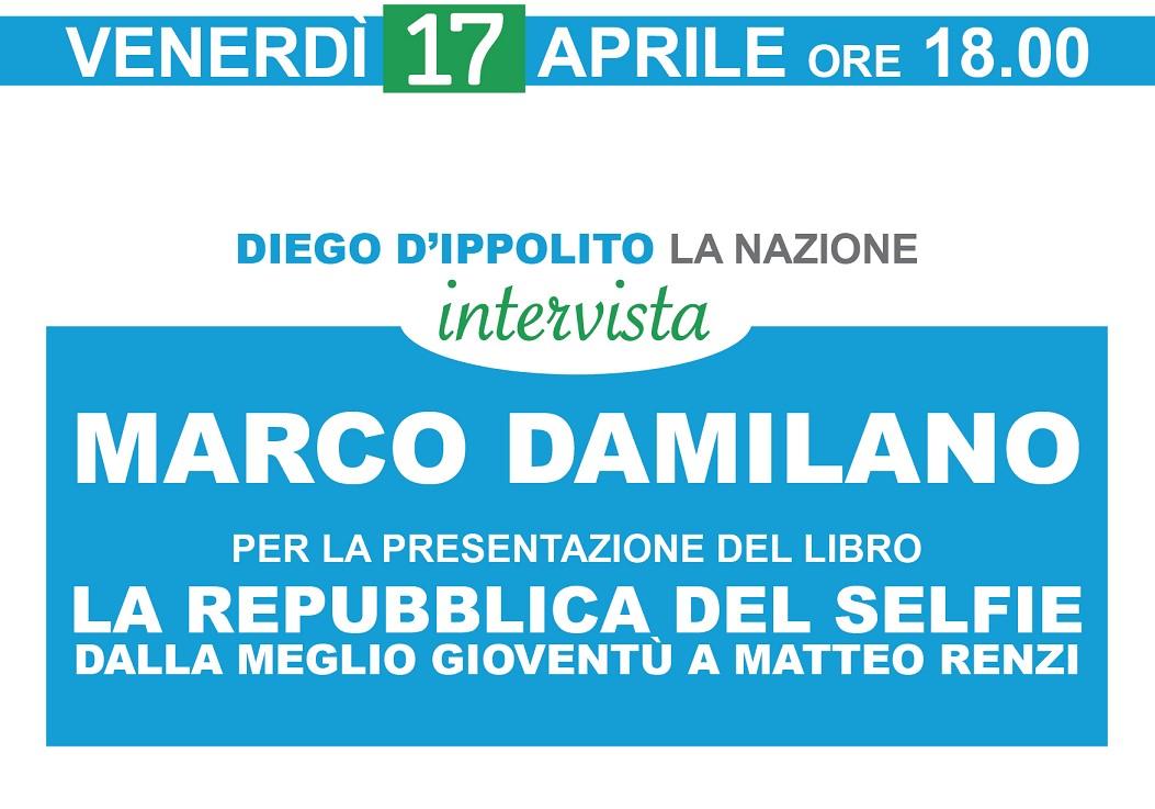Intervista con Marco Damilano. Arezzo – 17 aprile 2015