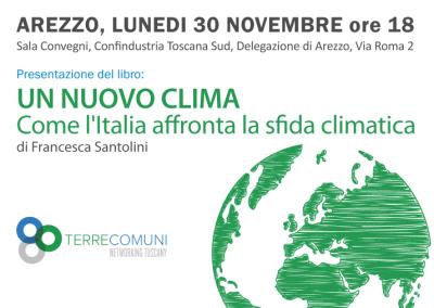 Un nuovo clima – Arezzo – 30 Novembre 2015