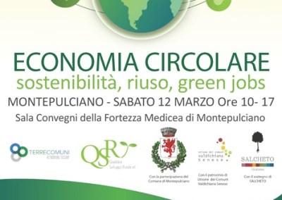 Economia Circolare. Montepulciano – 12 marzo 2016
