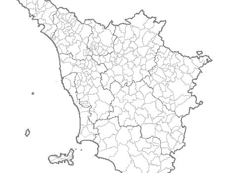 Cartina Della Toscana Con Tutti I Comuni.Le Fusioni Dei Comuni In Toscana Una Chiave Di Lettura