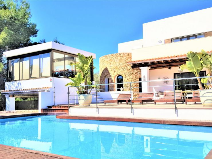 Villa Can Garrey, with 7 Bedrooms For rent in Santa Eulalia, Ibiza