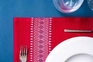 Set de table à motifs Terres Karens