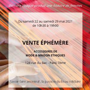 Vente Terres Karens Printemps 2021 - 124 rue du Bac PARIS