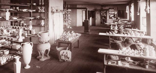 La faïencerie de Lunéville en 1892
