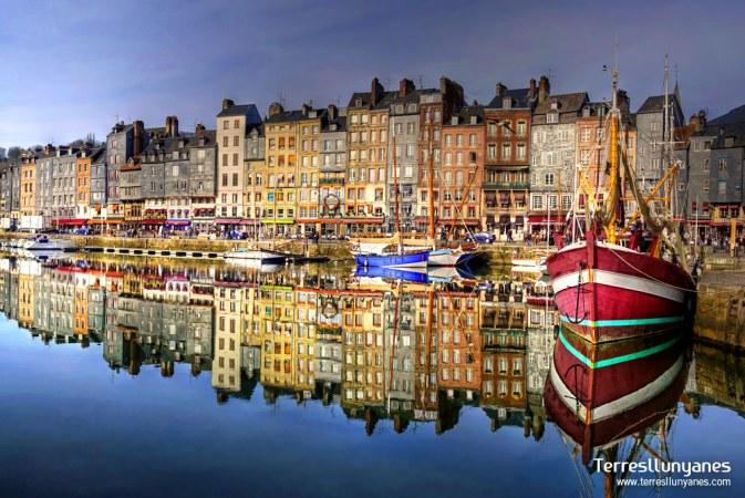 Puerto de Honfleur. Normandia. Viajes Francia