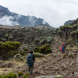 Realitzar un trekking pel Cim Kènia