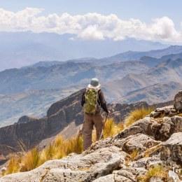 Trekking en la Cordillera Real