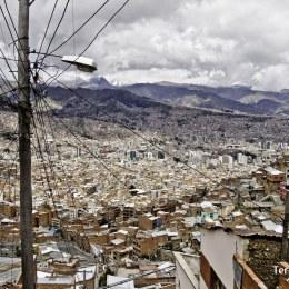 Mercado en El Alto, La Paz