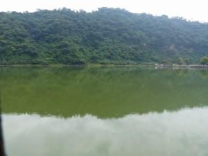 Le lac Amatitlan pollué