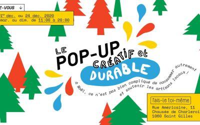Pop Up Créatif et durable