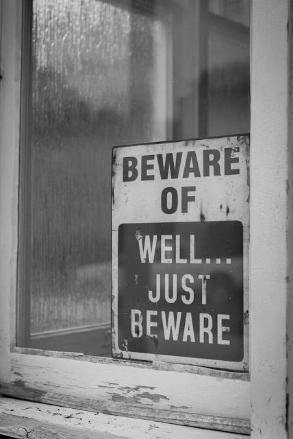 Beware of, well... just beware.