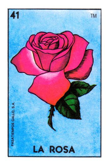 Modern loteria cards