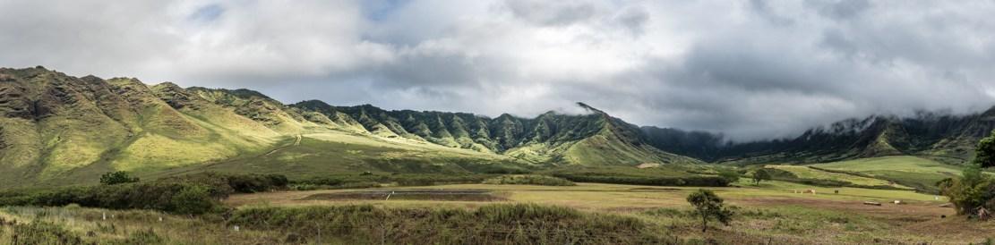 Kaiahi Gulch in Makua Valley
