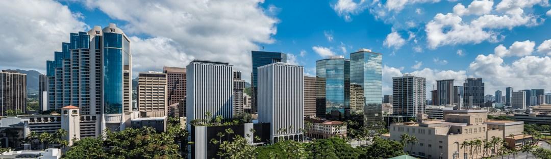 Panorama Views from Aloha Tower