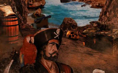 A Pirate's Dream – Photoshop Composite