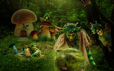 Sherwood Forest Fairy Composite