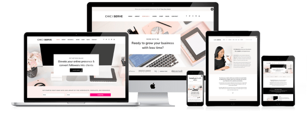 Feminine WordPress Sites for Entrepreneurs
