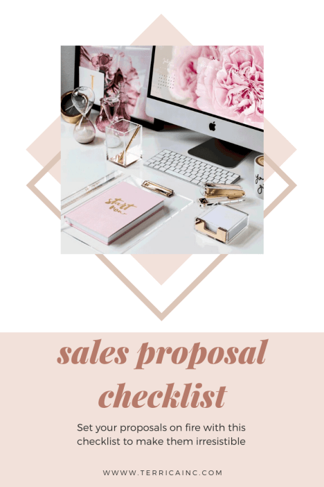 Sales Proposal Checklist for Wedding Planners