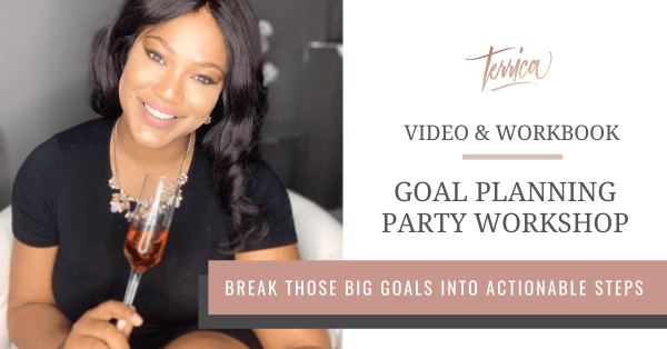 Wedding Business Goal Planning Party Workshop with Terrica