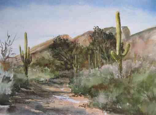 Behind the Ventana Canyon Resort in northeast Tucson is the original ranch, the Flying V. It took public pressure to force the resort to allow public access to the existing Ventana Canyon Trail. Fortunately, access still exists, thanks to those who cared enough to speak up.