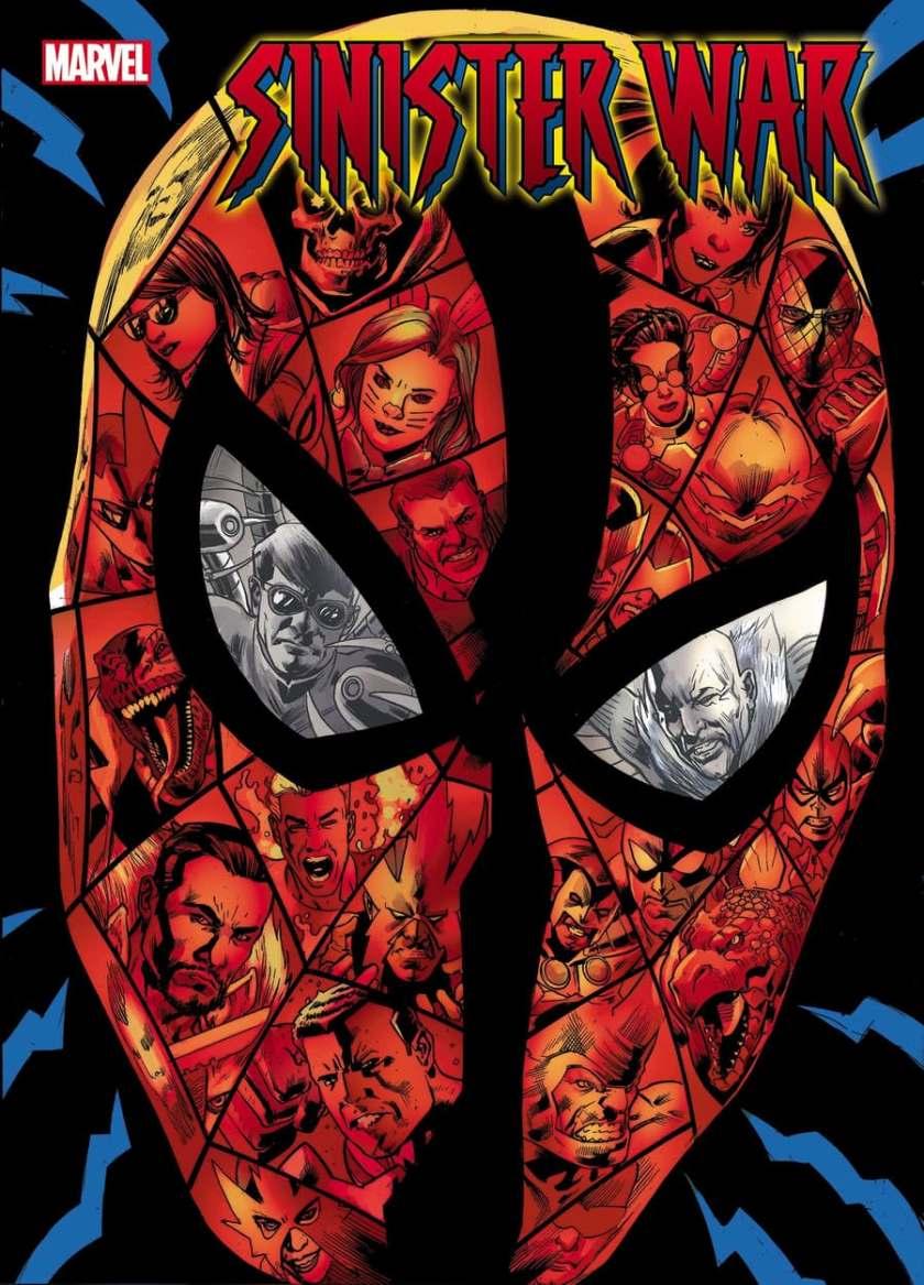 Primo sguardo: copertina di SINISTER WAR # 1 di Bryan Hitch.