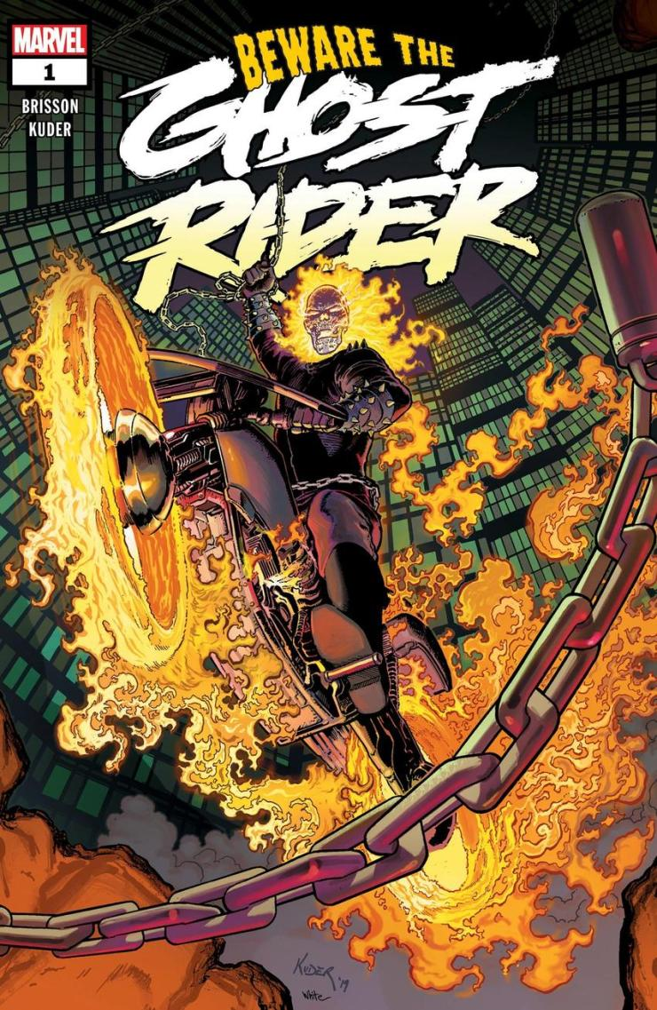 New 'Ghost Rider' title storming onto shelves this October