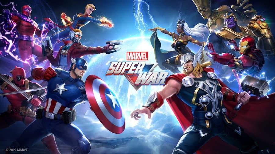 Hasil gambar untuk marvel super war