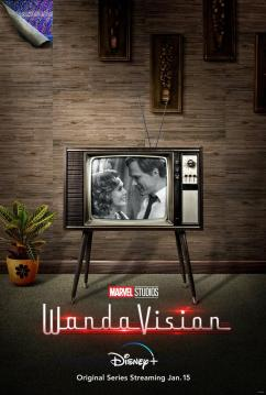 Marvel Studios' 'WandaVision': New Poster Centers Wanda and Vision on our  TV Screens | Marvel