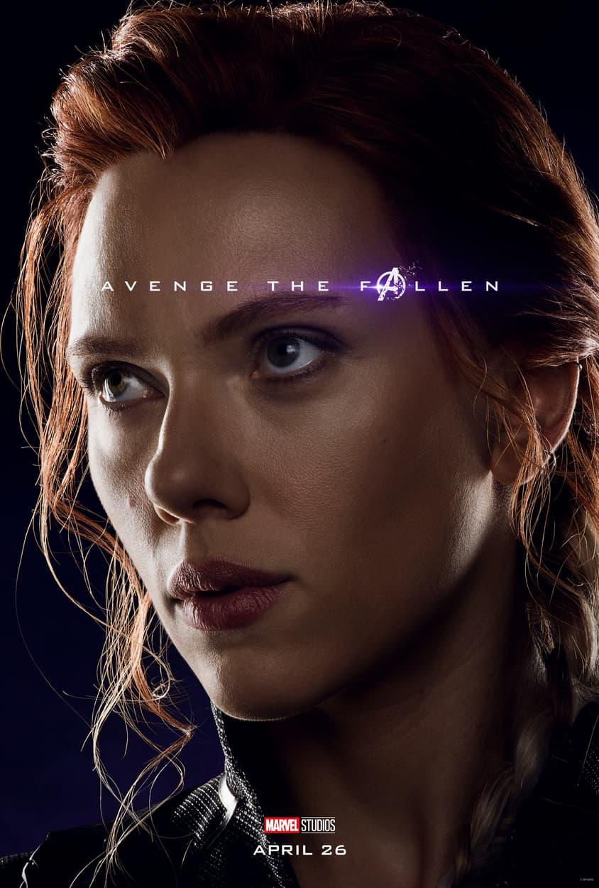 Image result for marvel character poster endgame black widow