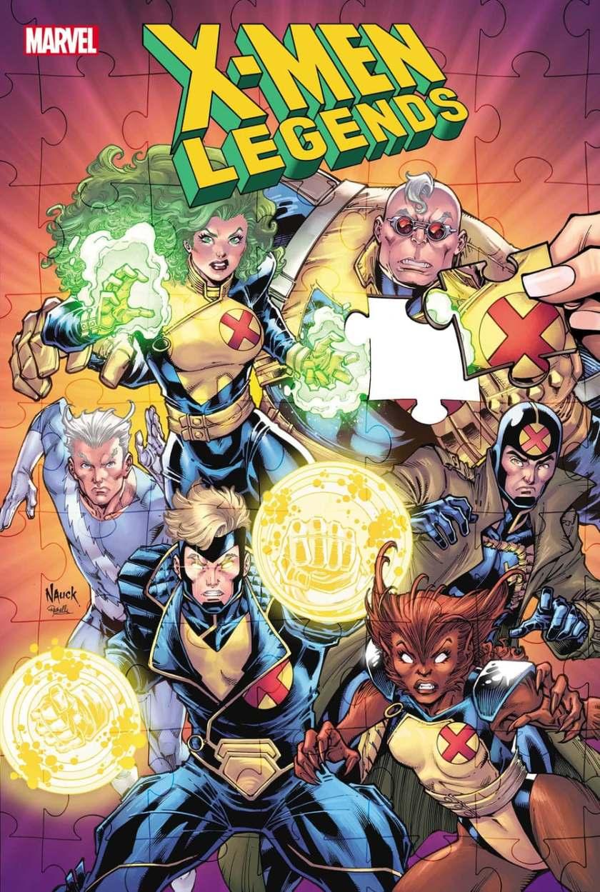 X-MEN LEGENDS #5 cover