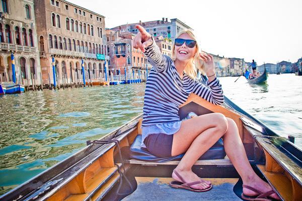 Minnie in Venice