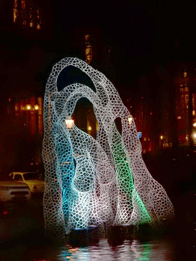 Amsterdam Light Sculpture