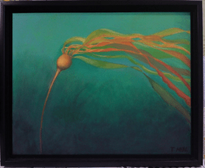 The Whisper, oil painting of Bull Kelp