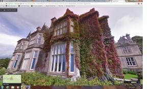 Muckross House, County Kerry Ireland as seen through Google Streetview.