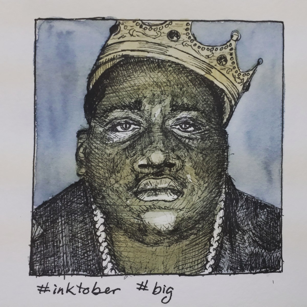 Inktober big, Biggie Smalls