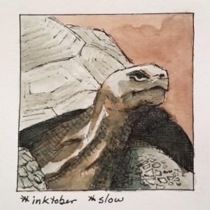 Inktober slow (Inktober part 4)