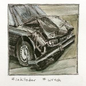 Inktober wreck (Inktober part 4)