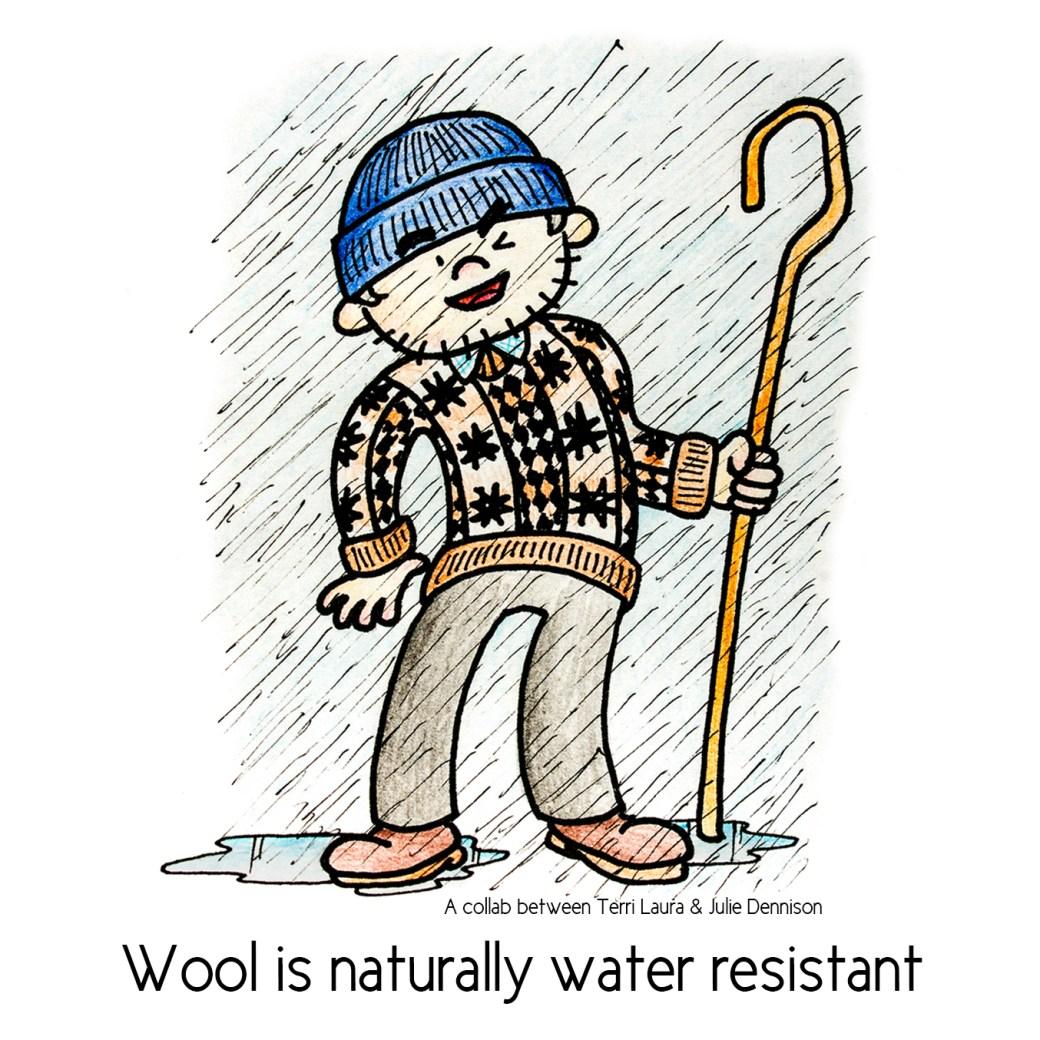 2 - water resistant
