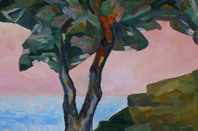 detail 2 Evening and the Arbutus Tree by Terrill Welch 2013_01_07 038