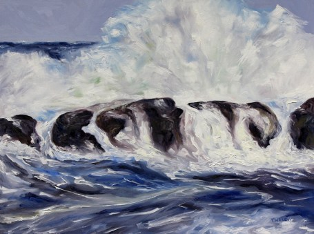 Storm Watching 30 x 40 inch oil on canvas by Terrill Welch 2013_12_11 003