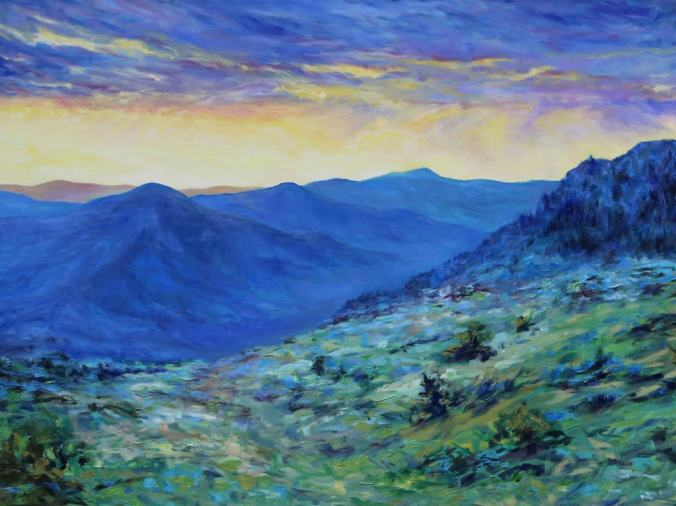 High_Desert_Dawn_30_x_40_inch_oil_on_canvas_by_Terrill_Welch_May_29_2012_to_May_2_2017_IMG_4335.jpg