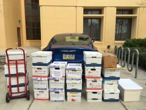 Terri Schiavo Archives in transit