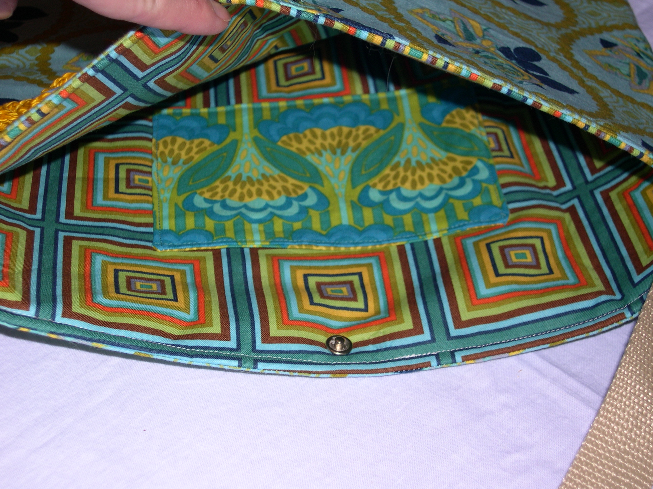 Book bag - inside