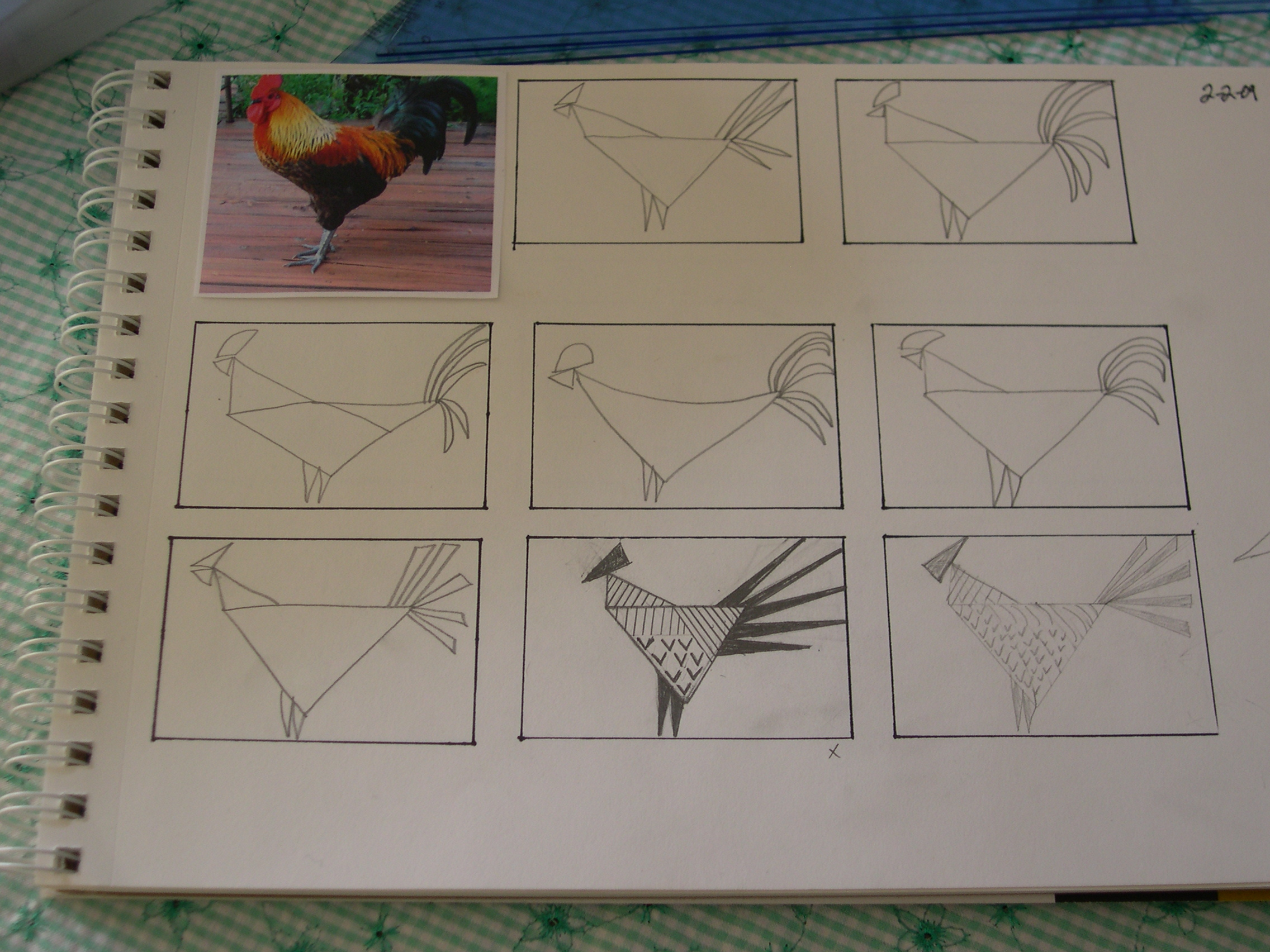 rooster thumbnails